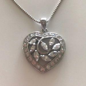 JTV Heart Pendant and Chain